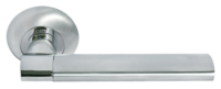 AGBAR, ручка дверная MH-21 SC/CP, цвет - мат.хром/хром