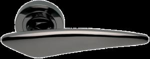 ручка цвет никель чёрный